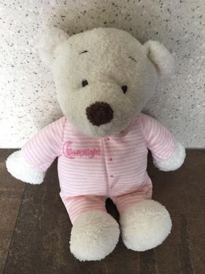 MARKS SPENCER M&S SLEEPTIGHT PINK TEDDY BEAR BABY SOFT TOY
