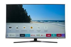 """SAMSUNG UE49MU SMART UHD 4K HDR FREESAT HD 49"""" LED TV"""