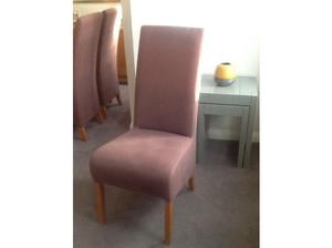 Set of 6 fabulous dining chairs in Peterlee