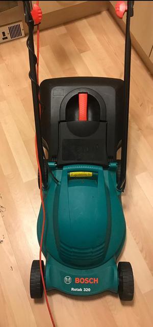 Bosch rotak 320 lawnmower ono asap