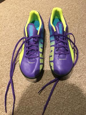 Brand new puma football boots (size 7)