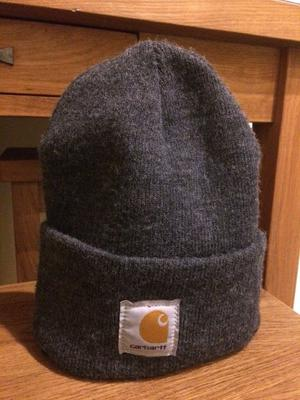 Carhartt Grey Beanie Hat