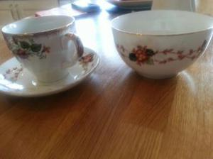 China cups and plates