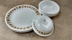 DINNER PLATES AND BOWLS by CORRELLE