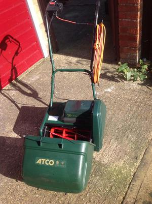 Electric Cylinder Lawn Mower,
