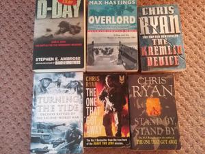 Historical battle/war books
