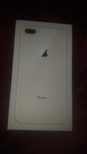 IPhone 8 plus gold brand new sealed