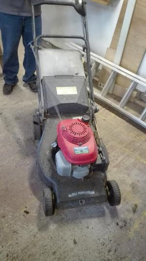 Large self propelled serviced  mower,poss del.