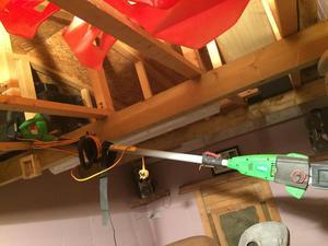 Long reach electric chainsaw