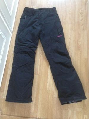 No Fear ladies waterproof ski trousers size 8 in excellent condition