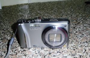 Panasonic Lumix DMC-TZ18 silver coloured digital camera & accessories. Excellent condition.