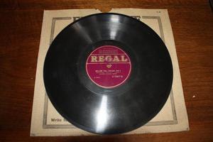 Regal 78 RPM Record - William Tell Part Overture 1 & 2