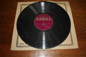 Regal 78 RPM Record - William Tell Part Overture 3 & 4