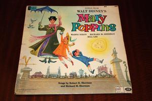 Songs From Walt Disney's Mary Poppins  Vinyl LP Record