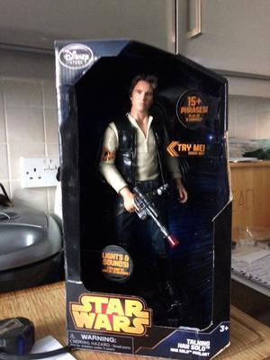 Talking Han Solo Star Wars figure