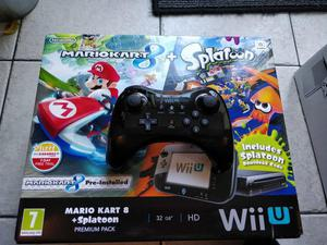 Wii u 32gb and pro controller