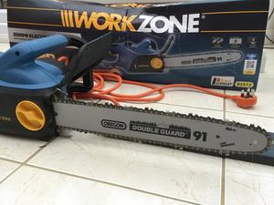 """Workzone Electric Chainsaw (Oregon / w / 16"""")"""