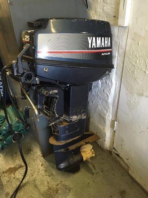 Yamaha 25 hp two stroke | Posot Class