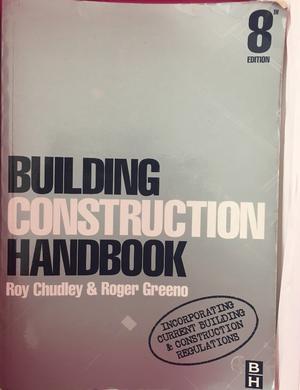 building construction handbook and construction, building services engineering & civil engineering