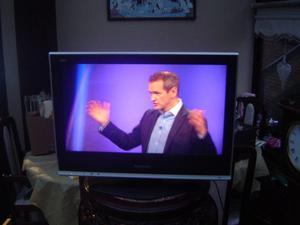 """panasonic viera 26"""" tv with freeview & remote"""