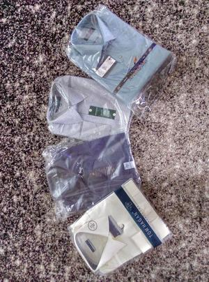 4 Brand New Mens Shirts In Packaging
