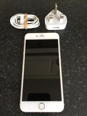 Apple iPhone 6 Plus gold 16gb on O2 in great condition