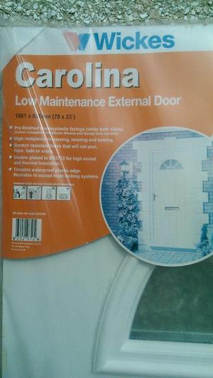 BRAND NEW:Wickes External Door - In original packaging