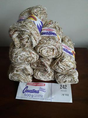 Cavatina yarn - Cotton and acrylic 9 x 50 g.