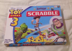 Disney Pixar Toy Story 3 Junior Scrabble. Mattel  Edition. Complete And VGC