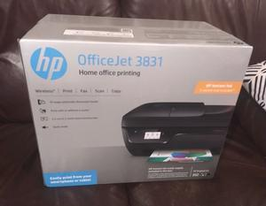 HP OfficeJet  All-in-One Printer, Instant Ink Compatible with 3 Months Trial