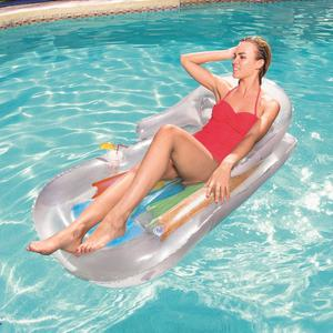 Inflatable Lounger Lazy Lounger Outdoor Beach Swimming Pool