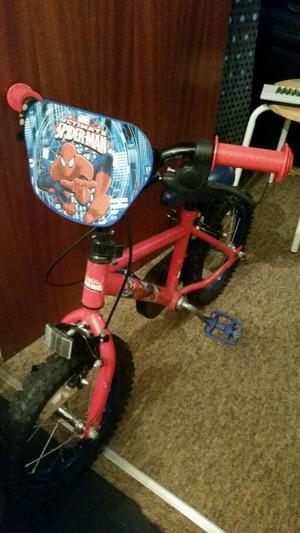 Kids Spiderman Bike Like New