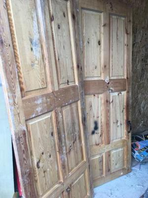 Solid pine doors