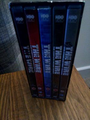 "The Wire"" complete box set"