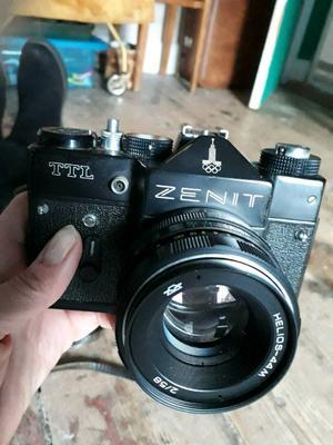 Zenith 35mm SLR film camera