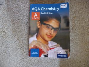 AQA Chemistry A Level book, 2nd edition, used, only £5