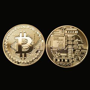 Bitcoin replica coin - fridge magnet