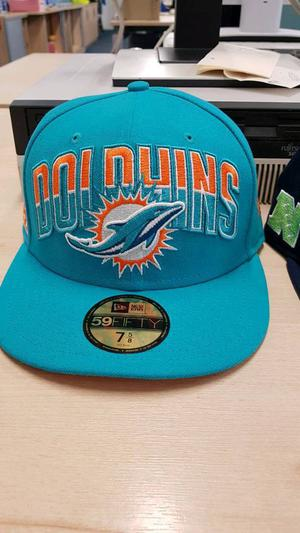 New Era NFL 59FIFTY baseball caps for sale- MIAMI DOLPHINS.
