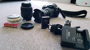 Nikon DSLR Camera + 2 Lenses