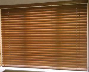"""Wooden blind 67.5"""" drop x 50"""" wide"""