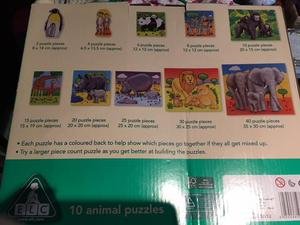 Early Learning animal puzzle