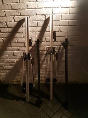 Locking Exodus Roof Rack With 2x Bike Rack One Posot Class