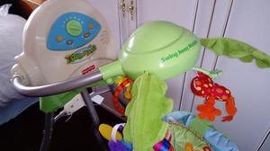 Fisher price rainforest open cradle swing seat