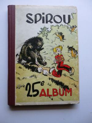 Journal Spirou - Binding editor 25 - C - EO ()