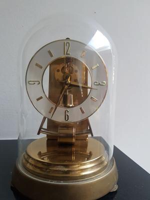 Kundo bell jar table clock Germany, s.