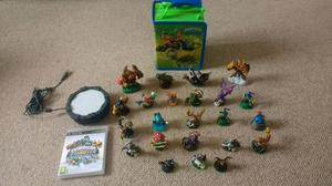 Large skylanders collection and ps3 game