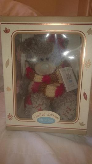 Me To You Limited Edition Autumn Boxed Bear