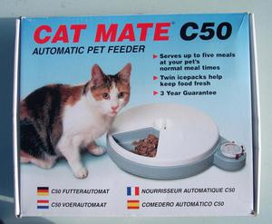 New in box Cat Mate,Automatic 5 servings, pet feeder