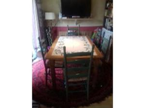 Pine Dining table and 6 chairs in Whitstable
