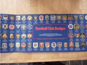 The ESSO Collection of Football Club Badges FULL SET